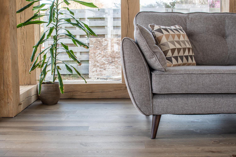 Characterful wood flooring installation in Cornwall