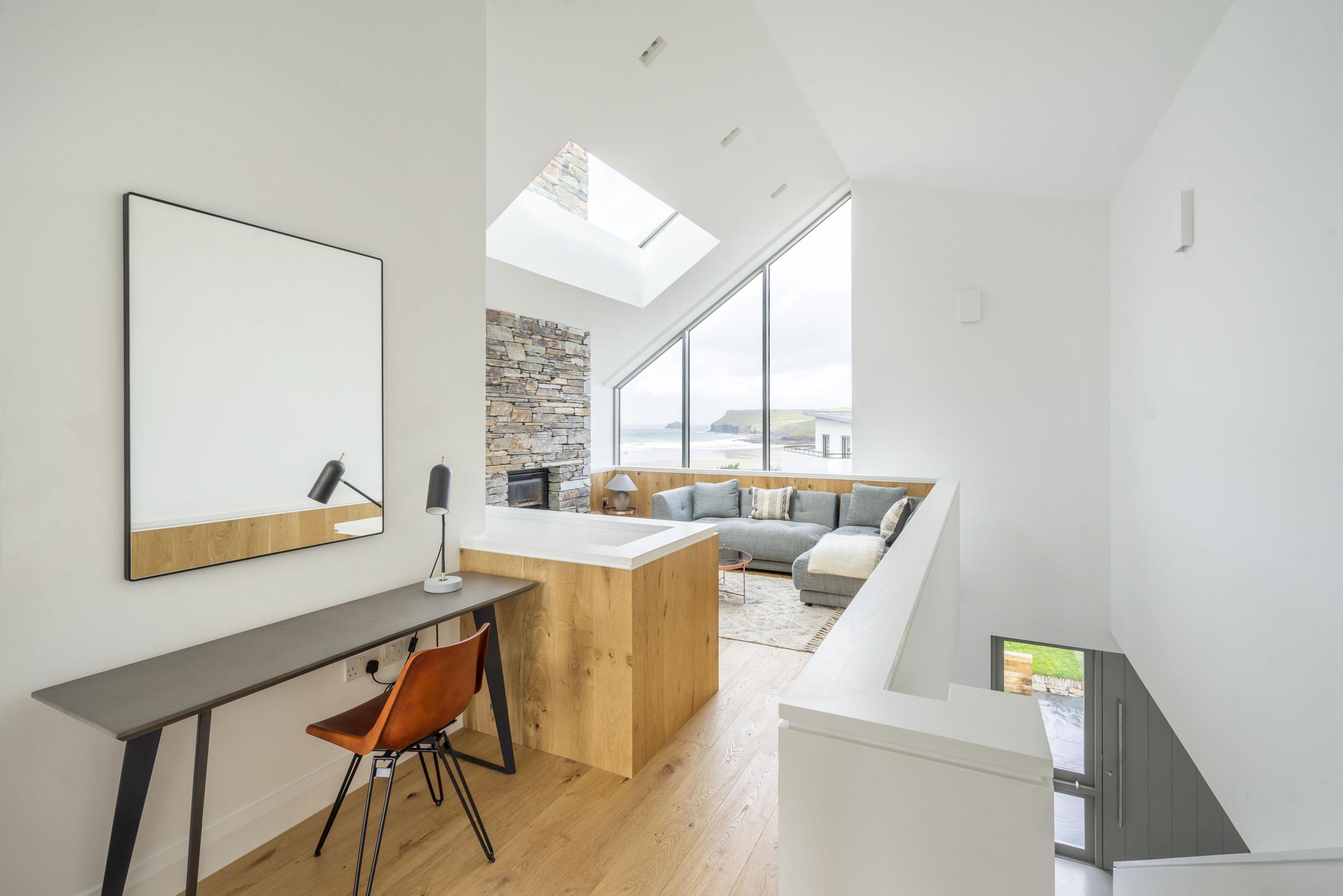 British hardwood floor for modern new build