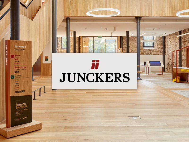 Supplier and fitter of Junckers flooring